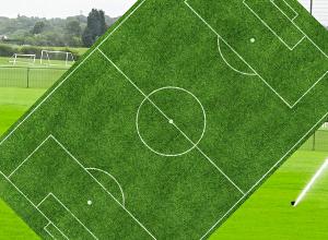Automatická závlaha fotbalového hřiště