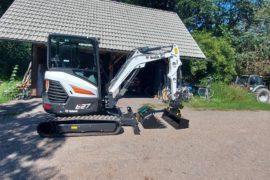 Pásový barg Bobcat E27