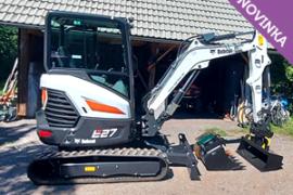 Pásový bagr Bobcat E27